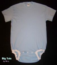 Adult Baby WEAR2WORK Baby Blue OneSuit *Big Tots by MsL