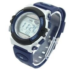 Dual Power Solar Chronograph Alarm Date Silicone Strap Digital Sport Watch K31