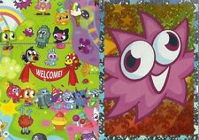 MOSHI MONSTERS MASH UP MOSHLING MADNESS ROX AND MAP CODE CARDS CHOOSE CARDS