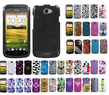 Two Piece Hard Snap on Design Protective Cover Case for HTC One S