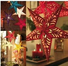 Three-dimensional five-pointed star Ceiling ornaments Christmas decorations W65