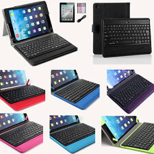 Leather Stand Case Cover with Bluetooth Keyboard For Apple iPad Air 2 1 iPad 5th