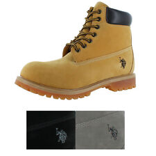 "U.S. Polo Assn. Tower 6"" Men's Boots Faux Leather"