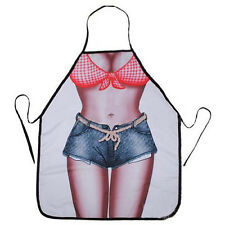 Entertaining Cool Funny Sexy Naked Women Men Home Kitchen Cooking BBQ Apron SKUS