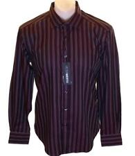 Bnwt Men's Authentic Peter Werth Long Sleeve Striped Shirt RRP£55 New