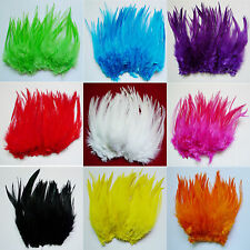 wholesale natural 50/100/200pcs The rooster feathers 4-6'' for hot sale