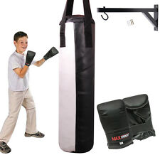 Kids Punch Bags Heavy Duty Punching Boxing Kick Punchbags Karate MMA