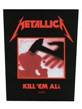 Metallica Kill 'Em All Backpatch - NEW & OFFICIAL