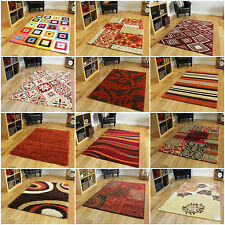 Quality Large Small Soft Orange Terracotta Modern Traditional New Cheap Rugs