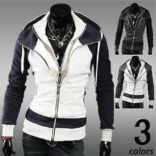 Hot Mens Fashion Slim Fit Sexy Top Designed Hoodies Jackets Coats 3 Color-CA HF