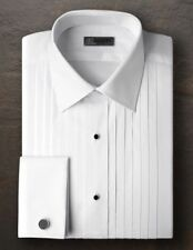 After Six All Cotton French Cuff Tuxedo Shirt