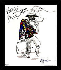 Ralph Steadman - Dr. Gonzo Poster With Choice of Frame, Wall Mount, or Rolled