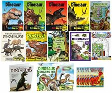 DINOSAUR BOOKS - Sticker/Colouring/Activity/Factual & Art Pads (Kids/Gift/Party)