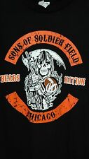 Sons of Soldier Field Bears Nation Chicago Anarchy t-shirt new