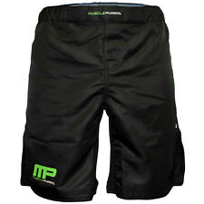 MusclePharm Weak Ends Here MMA Fight Shorts - Black
