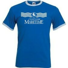 NEW Gillingham FC 89/90 Retro Style Football Club T-shirt - All Sizes Available