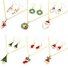 Hot Selling Fashion Chain Jewelry Bib Christmas Gift Necklace Earrings Cheap