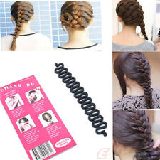 Wholesale Fashion French Roller With Hook Magic Creative Hair Braiding Tool NEW