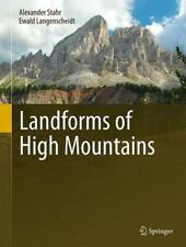 NEW Landforms of High Mountains by Alexander Stahr Hardcover Book (English) Free