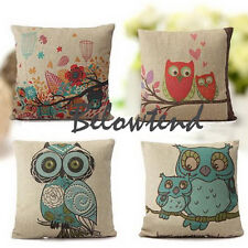 Fashion Owl Throw Pillow Decor Case Pillow Cover Pillowcase Pillowslip