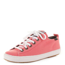 Ladies Camper Imar Toffee / Coral Lace Up Trainers Shoes Uk Size