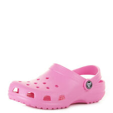 Kids Girls Crocs Classic Party Pink Jelly Sandals Shoes Uk Size C8/9-M3/W5