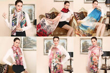 The new female silk scarves 100% mulberry silk scarves wholesale 175 * 52 cm