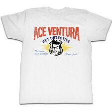 Ace Ventura Movie Pet Detective Card Licensed Adult Shirt S-XXL