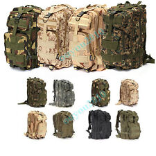 Outdoor Men's Military Tactical Backpack Rucksack Camping Hiking Trekking bag