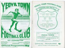 Yeovil Town HOME programmes 1960s & 1970s FREE P&P UK Choose from list