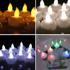 NEW flameless Electronic Tea Light LED Candle for Party Floral Decor Waterproof