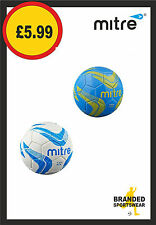 Mitre Size Mini Ace Football Blue/Yellow or White/Blue BRAND NEW