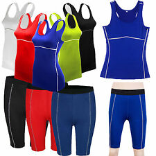 Women's Body Armour Compression Under Baselayer Thermal Athletic Apparel Shorts