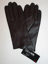 Ladies  Genuine Leather Thinsulate Gloves,Brown