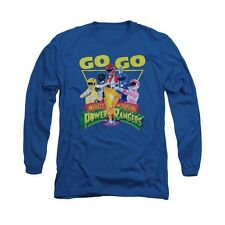 Power Rangers Mighty Morphin Go Go Licensed Adult Pullover Hoodie S-3XL
