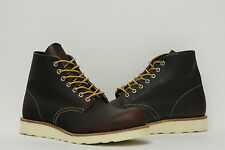 """Red Wing Heritage 6"""" Round Toe """"Made in USA"""" Boots Shoes 8196 Mens 7.5~11.5"""