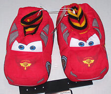 Nwt New Disney Cars Movie McQueen Race Car Slippers Shoes Puffy Cute Toddler Boy