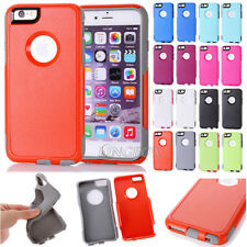 Rugged High Impact Shockproof Commuter Series Case Cover For iPhone 6 6S Plus