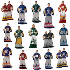 NFL Team Comfy Snuggie Blanket With Sleeves Pick Your Favorite