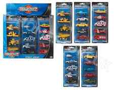 TEAMSTERS STREET SERIES DIE CAST VEHICLES POLICE EMERGENCY CONSTRUCTION CARS NEW