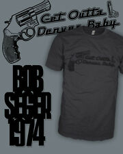 Bob Seger - Hand Gun - Night Moves - 38 Special T-Shirt - Scoop V-Neck Raglan