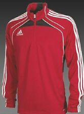 Adidas soccer training top youth Condivo training jacket red white $55 M L XL