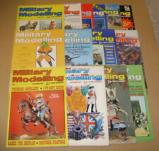 """MULTI-LIST SELECTION OF """"MILITARY MODELLING MAGAZINE""""  FROM YEARS 1975 / 1976"""