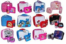 KIDS LUNCH BAGS WITH BOTTLE & SANDWICH BOX (Back To School, Food Box/Storage)