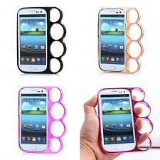 Cell Phone Knuckles Style Rings Phone Case Cover For Samsung galaxy S3 i9300