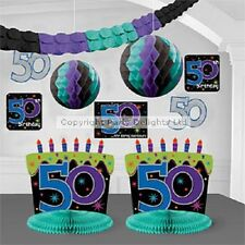 The Party Continues 30 40 50 60  Birthday Room Decorating Kit Man Women