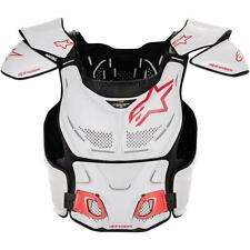 Alpinestars Roost Guard A-8 White/Red Deflector