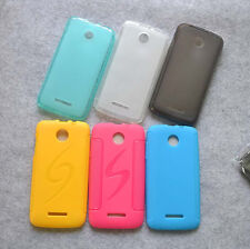 For Lenovo A390 New Rubber TPU Matte Gel skin case cover