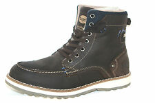 Fashionable Dockers Boots Men's Sneakers Ankle Boots Brown Café