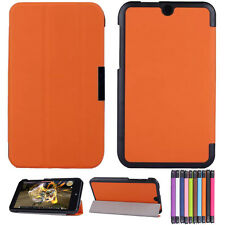 """For 7"""" HP Stream 7 Tablet PC Leather Case Stand Cover Tri-Fold Ultra Slim"""